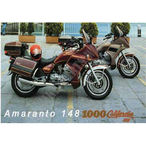 1000 CALIFORNIA 1990 California III Carburatori Carenato