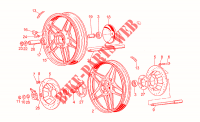 Wheels for MOTO GUZZI V 65 Custom 1984