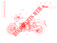 Decal and plate set FRAME 750 moto-guzzi-motorcycles V7 2016 8